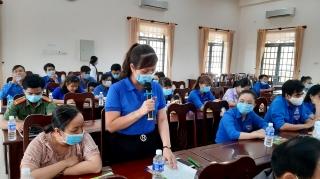 Bến Cầu tổ chức Diễn đàn đối thoại với Đoàn thanh niên huyện năm 2021