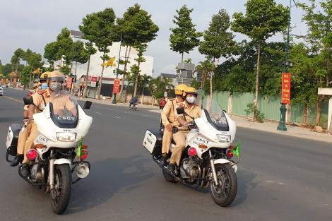 Hai ngày nghỉ lễ, tình hình trật tự, an toàn giao thông ổn định