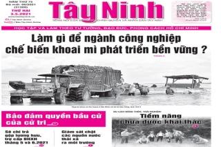 Điểm báo in Tây Ninh ngày 03.05.2021