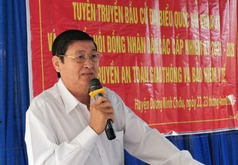 MTTQ Việt Nam huyện Dương Minh Châu tổ chức tuyên truyền bầu cử trong đồng bào tôn giáo, dân tộc