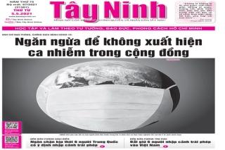 Điểm báo in Tây Ninh ngày 05.05.2021