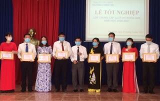 Trường Chính trị tỉnh: Trao bằng tốt nghiệp cho 79 học viên lớp Trung cấp Lý luận Chính trị - Hành chính khóa A29