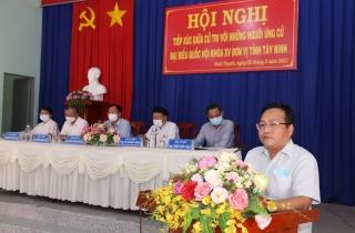 Cử tri TP. Tây Ninh: Mong đại biểu trúng cử tiếp tục quan tâm đến đời sống người dân