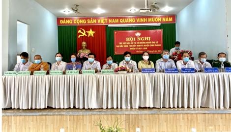 Tiếp xúc cử tri xã Hảo Đước huyện Châu Thành