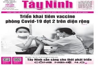 Điểm báo in Tây Ninh ngày 07.05.2021