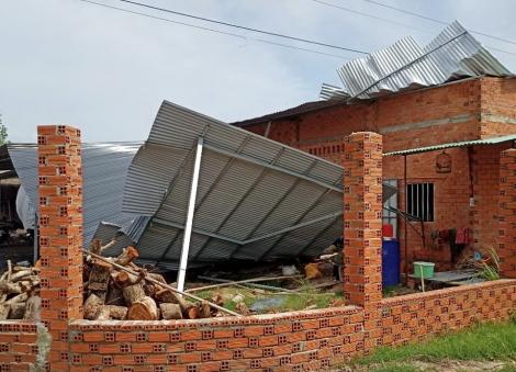 Tây Ninh: Chỉ trong 2 ngày (5-6.5), mưa giông gây thiệt hại hơn 16 tỷ đồng