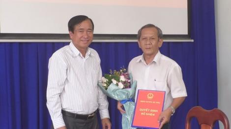 Gò Dầu: Bổ nhiệm Chánh Thanh tra huyện