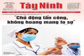 Điểm báo in Tây Ninh ngày 08.05.2021
