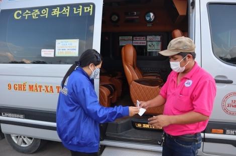 Từ ngày 7.5 xe vận tải hành khách đi Thành phố Hồ Chí Minh tối đa 50% sức chứa