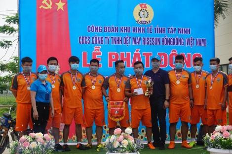 CĐCS Công ty TNHH Dệt may Rise Sun Hồng Kông Việt Nam: Phát động Tháng công nhân năm 2021