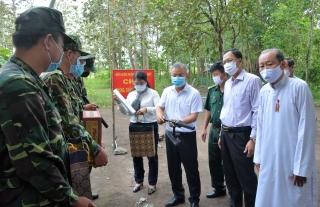 Ứng cử viên ĐBQH đơn vị số 2: Tiếp xúc cử tri huyện Tân Biên