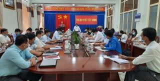 Ủy ban bầu cử Thành phố họp phiên thứ 7