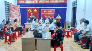 37 ứng cử viên đại biểu HĐND phường Ninh Sơn hoàn thành việc tiếp xúc cử tri, vận động bầu cử