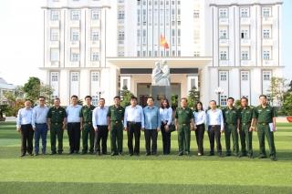 Trưởng Ban Tuyên giáo Trung ương thăm BĐBP