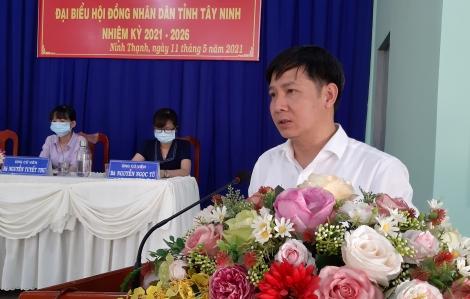 Bí thư Tỉnh ủy Nguyễn Thành Tâm tiếp xúc cử tri phường Ninh Thạnh
