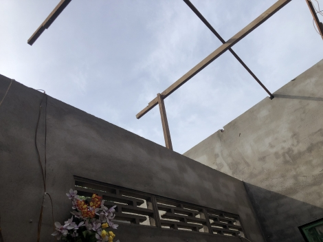 Gò Dầu: Mưa giông làm tốc mái nhà, một người bị thương