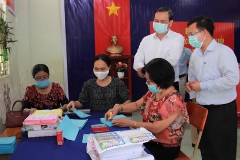 Kiểm tra công tác chuẩn bị bầu cử tại thị xã Trảng Bàng