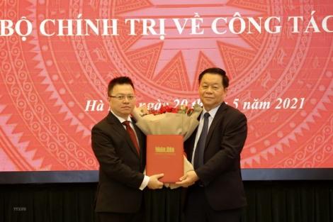 Ủy viên BCH Trung ương Đảng Lê Quốc Minh giữ chức Tổng Biên tập Báo Nhân Dân