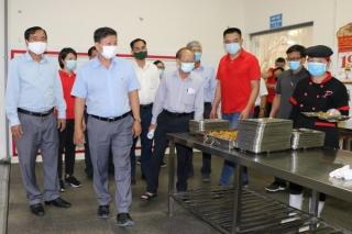 Các khu công nghiệp nâng cao trách nhiệm hơn nữa trong phòng, chống dịch bệnh