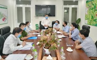 Bí thư Thị ủy Trảng Bàng kiểm tra công tác phòng, chống dịch tại các khu công nghiệp