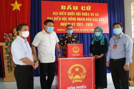 Chủ tịch UBND tỉnh Nguyễn Thanh Ngọc: Kiểm tra công tác chuẩn bị bầu cử