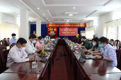 Đến 15 giờ 00 ngày 23.5, tỷ lệ cử tri Tây Ninh đi bầu đạt hơn 84%