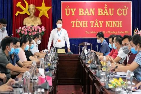 Tây Ninh: Cuộc bầu cử diễn ra an toàn, thành công
