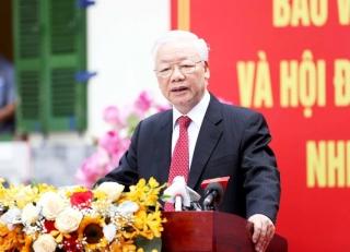 Tổng Bí thư Nguyễn Phú Trọng: Người đại biểu được dân bầu phải làm sao cho xứng đáng với đồng bào, cho xứng đáng với Tổ quốc(*)