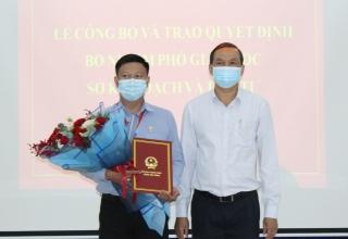 Ông Nguyễn Kiên Cường được bổ nhiệm làm Phó Giám đốc Sở Kế hoạch và Đầu tư
