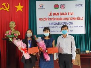 Tổ chức Di cư Quốc tế: Tặng 30 chiếc ti vi cho Tây Ninh