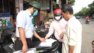 Thị trấn Châu Thành: Xử phạt 4 trường hợp không đeo khẩu trang nơi công cộng