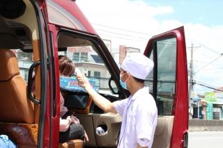 Vận động sinh viên y tế hỗ trợ Sở Giao thông Vận tải tham gia công tác phòng, chống dịch Covid – 19