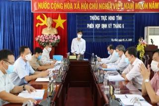 Thường trực HÐND tỉnh: Tổ chức phiên họp định kỳ tháng 6 năm 2021