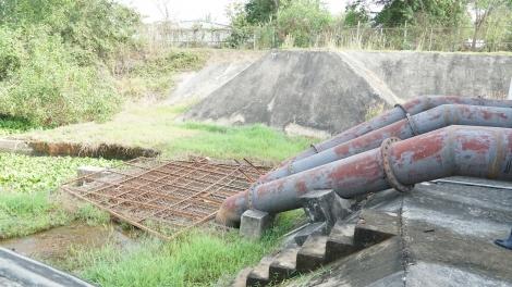 Cần tăng công suất nước tưới của Trạm bơm Bến Đình