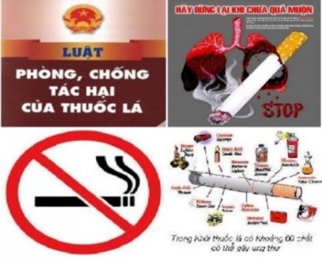 Phòng, chống tác hại của thuốc lá