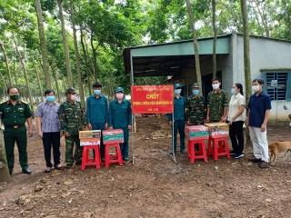 Công ty cổ phần Thành Thành Công - Biên Hòa Tây Ninh: Tặng quà cho các chốt phòng, chống dịch Covid -19 trên địa bàn huyện Tân Châu
