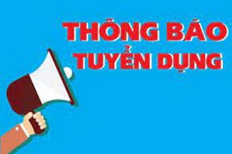 Báo Tây Ninh Thông báo tuyển dụng.