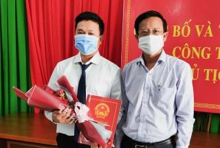 Trảng Bàng: Ông Trần Minh Tùng giữ chức Chánh Văn phòng HĐND và UBND thị xã
