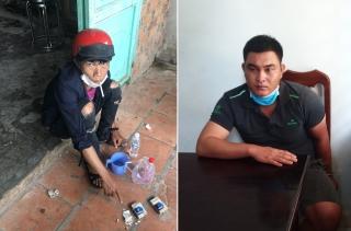 Công an huyện Gò Dầu bắt 2 vụ 3 đối tượng tàng trữ ma túy