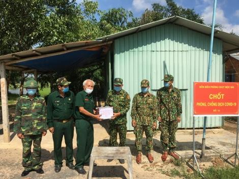 Cựu chiến binh tích cực tham gia phòng chống Covid-19