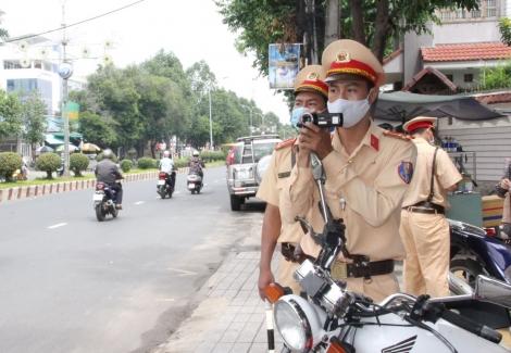 Thị xã Trảng Bàng lập biên bản xử lý hơn 700 trường hợp vi phạm trật tự an toàn giao thông