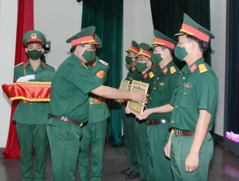 Bộ CHQS tỉnh Tây Ninh: Tổng kết công tác bầu cử