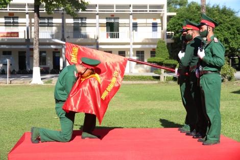 Trung đoàn 174 tổ chức Lễ tuyên thệ chiến sĩ mới