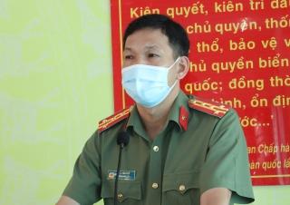 UBND tỉnh: Khen thưởng đột xuất cho Công an huyện Châu Thành
