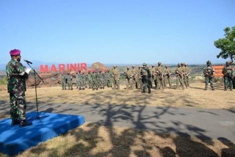Thủy quân lục chiến Indonesia và Mỹ tiến hành tập trận chung