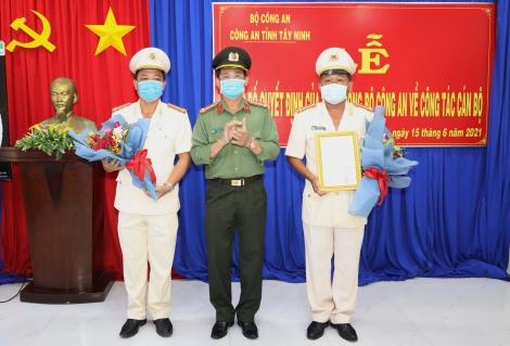 Công an Tây Ninh: Điều động Trưởng phòng, Trưởng Công an các huyện, thành phố
