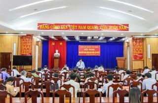 Tân Châu: Hội nghị Ban Chấp hành Đảng bộ huyện lần thứ 5