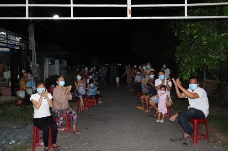 Người dân vùng cách ly y tế ấp Bến Kéo: Trở lại cuộc sống bình thường