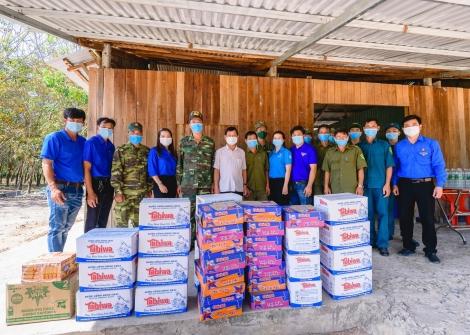Huyện đoàn Tân Châu: Phát động ủng hộ quỹ vắc-xin phòng Covid-19