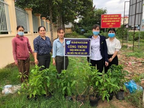 Hội LHPN xã Lộc Ninh: Nhiều hoạt động phong trào hữu ích